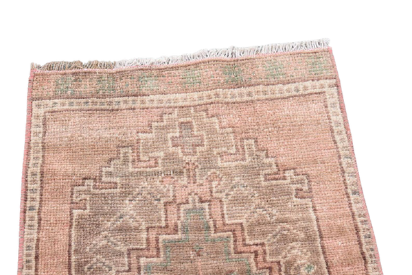 Mini Turkish Rug 1.4 x 3 ft