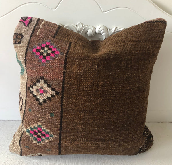 Turkish Kilim No. 76|| 16x16