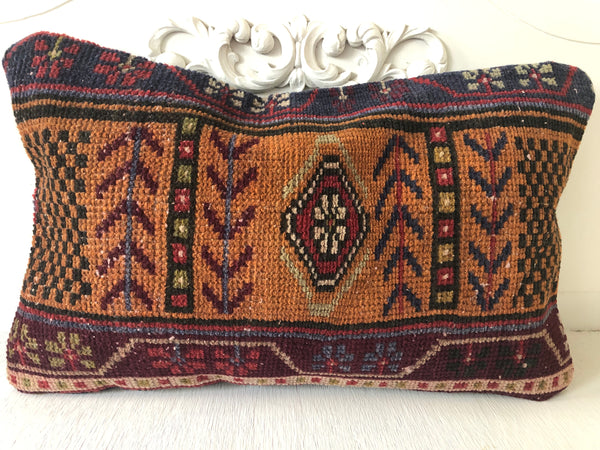 Turkish Kilim No. 78|| 12x20
