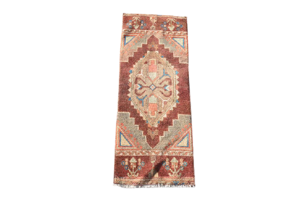 Mini Turkish Rug 1.4 x 3.6 ft