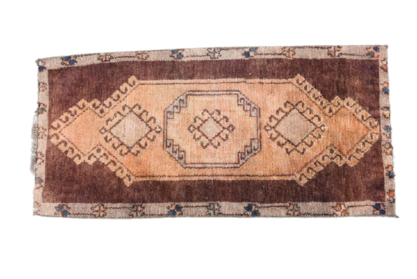 Mini Turkish Rug 1.8 x 3.6 ft
