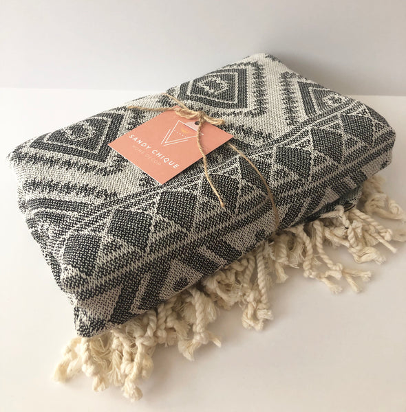 Kilim Weave Turkish Towel