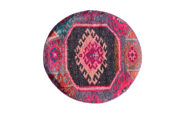 Mini Turkish Roundie 2.3 x 2.3 ft
