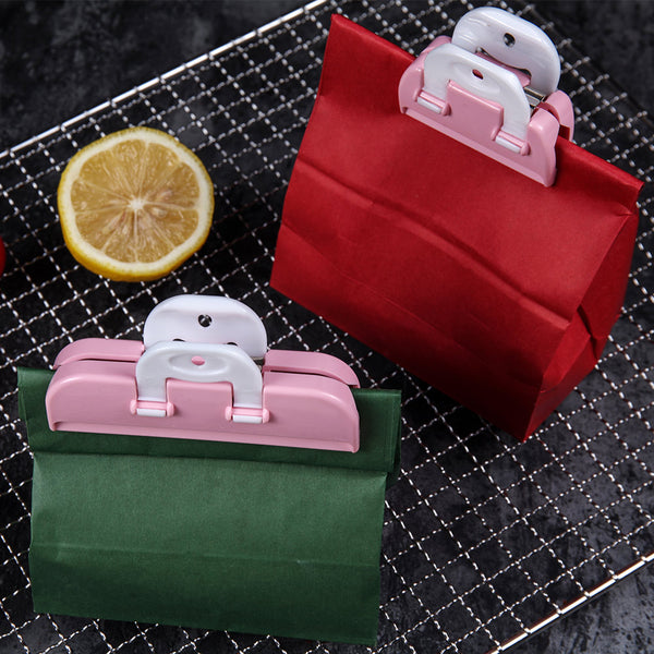 2-Piece Food Bag Clip - keep it fresh!