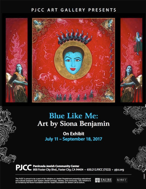 PJCC Art Gallery Presents: Blue Like Me: Art by Siona Benjamin