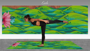 Earth Element Yoga Mat