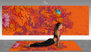 Fire Element Yoga Mat