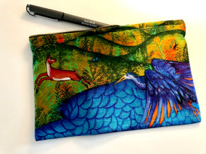 Autumn Pouch by Siona Benjamin