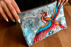Firebird Makeup Pouch