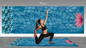Water Element Yoga Mat