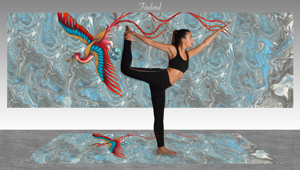 Yoga Mat - Firebird