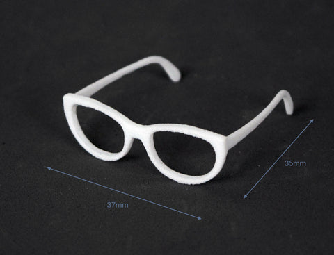 3D printed 1/4 MSD size doll glasses