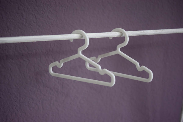 3D printed hangers 1/4 scale for MSD clothes