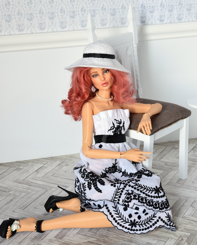 3D printed ball jointed doll Olivia 1/4 MSD size
