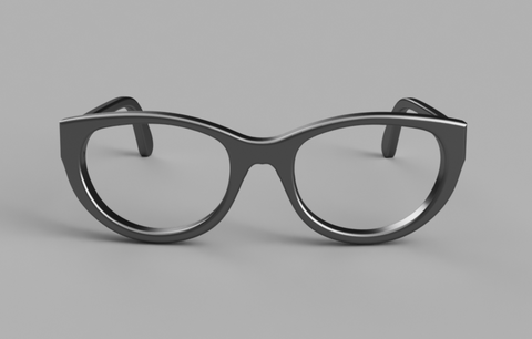 3D model doll glasses MSD 1/4 size