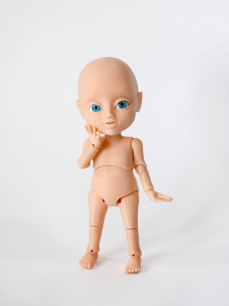 3D model ball jointed doll Dory
