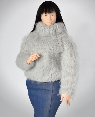 Fluffy sweater for Lidia 1/4 MSD size