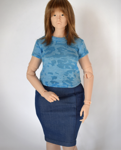 Classic tee for 1/4 scale Lidia