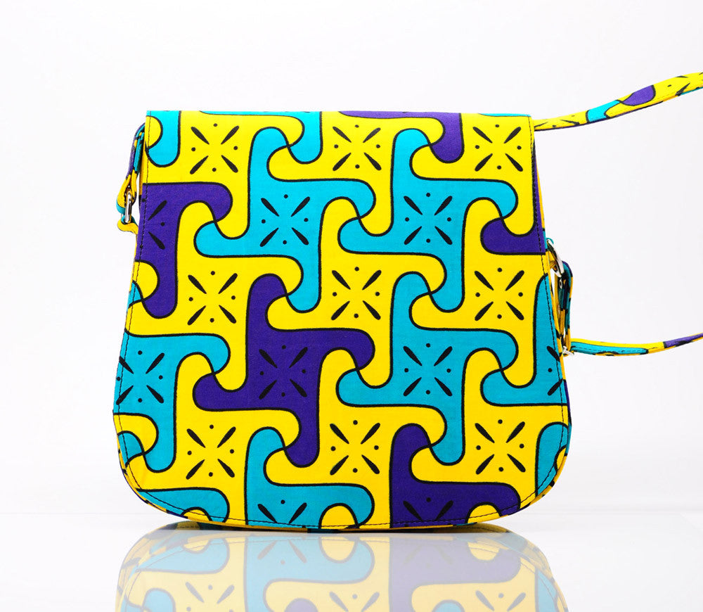 African Zinzi Messenger Bag