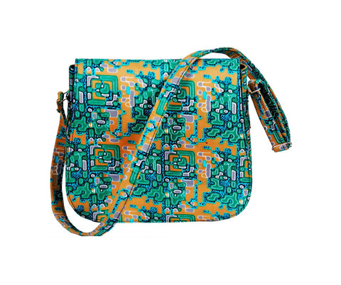 African Amina Messenger Bag (Small)