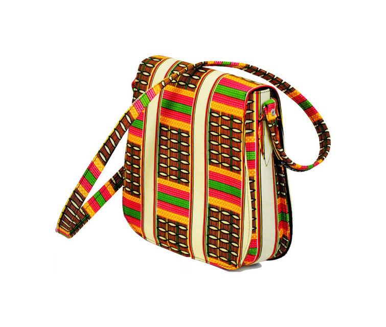 African Lucy Messenger Bag (Small)