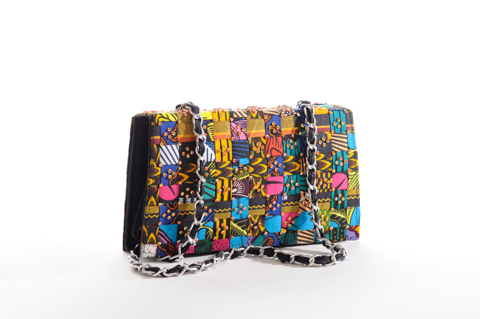Zambia clutch bag