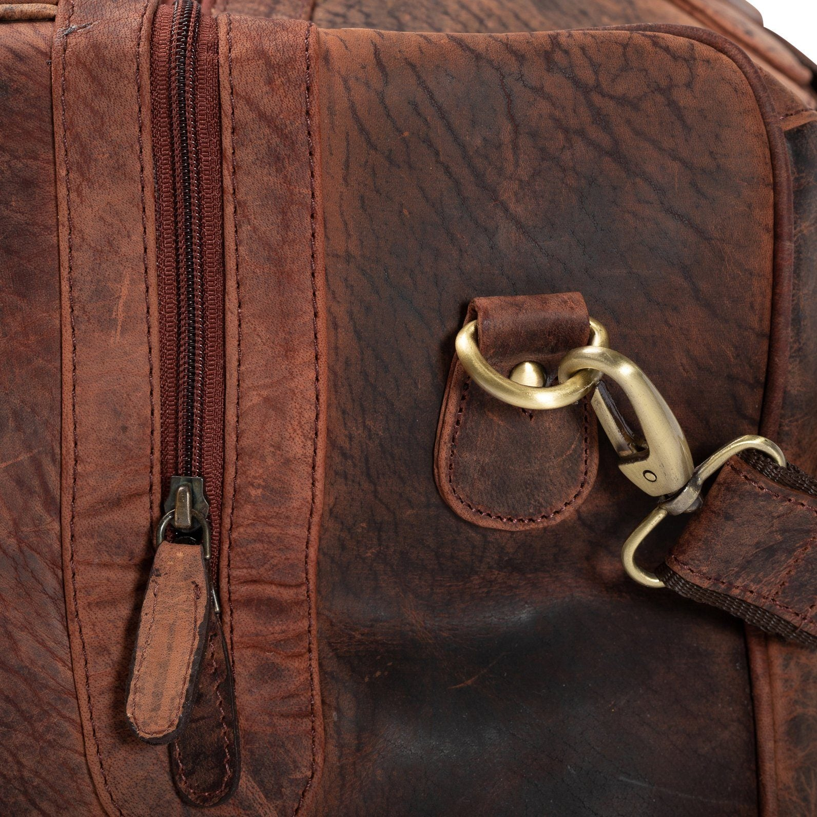 overnight bag_Vintage Leather Sydney