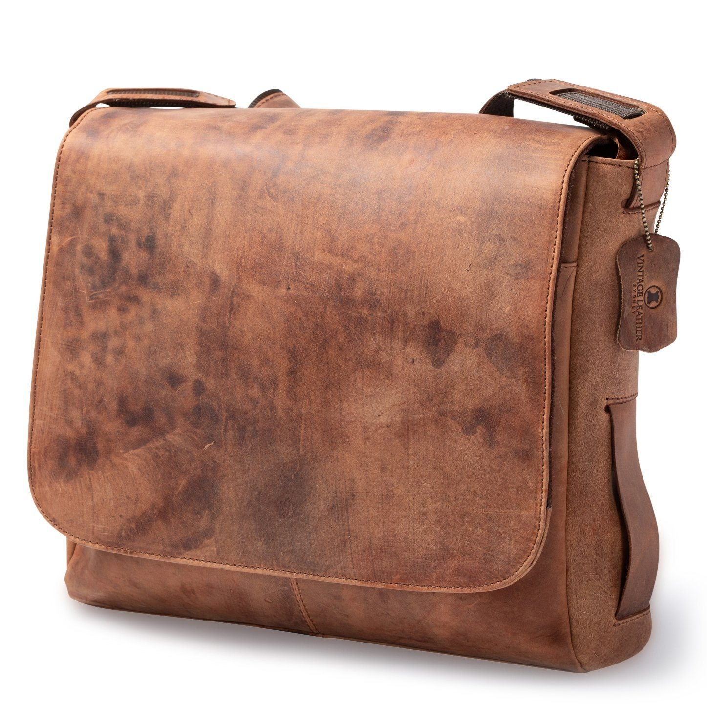 mens leather satchel bag