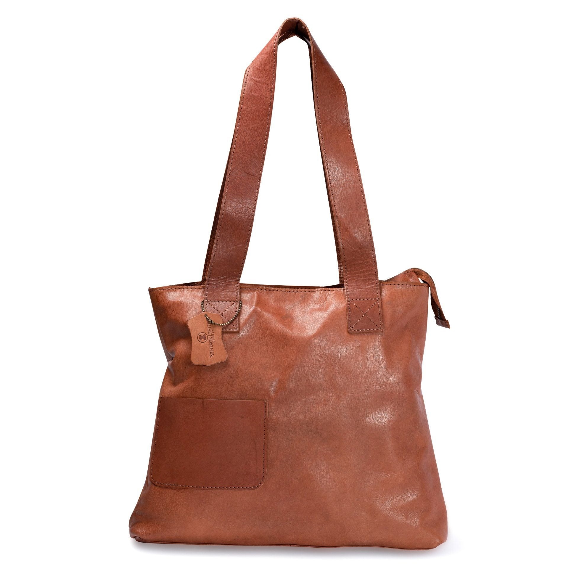 leather tote bag_Vintage Leather Sydney
