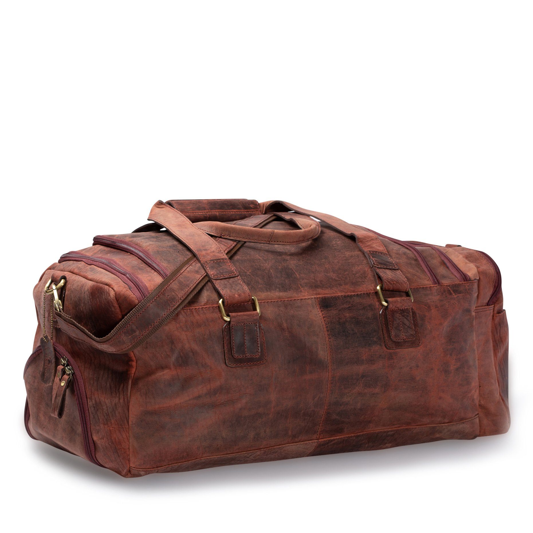 duffle bag_Vintage Leather Sydney