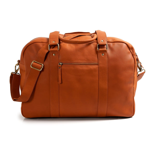 Leather Duffle Bag -  Santa Lucia