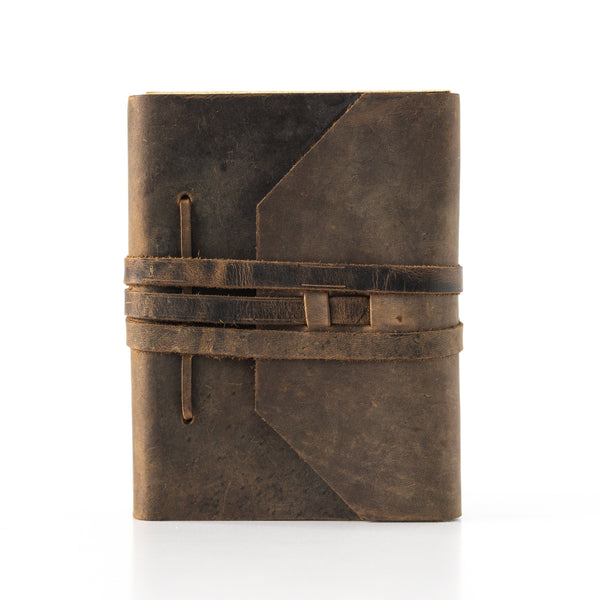 Personalised Leather Journal_Vintage Leather Sydney