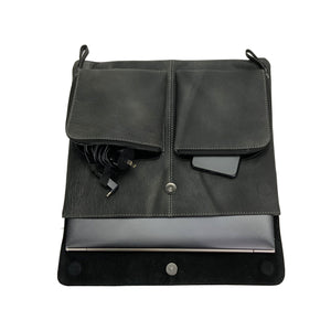 "Leather Laptop Sleeve 13""- Benson - Vintage Leather"