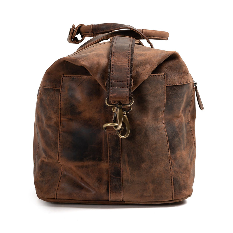 Leather Weekender Bag - Altico