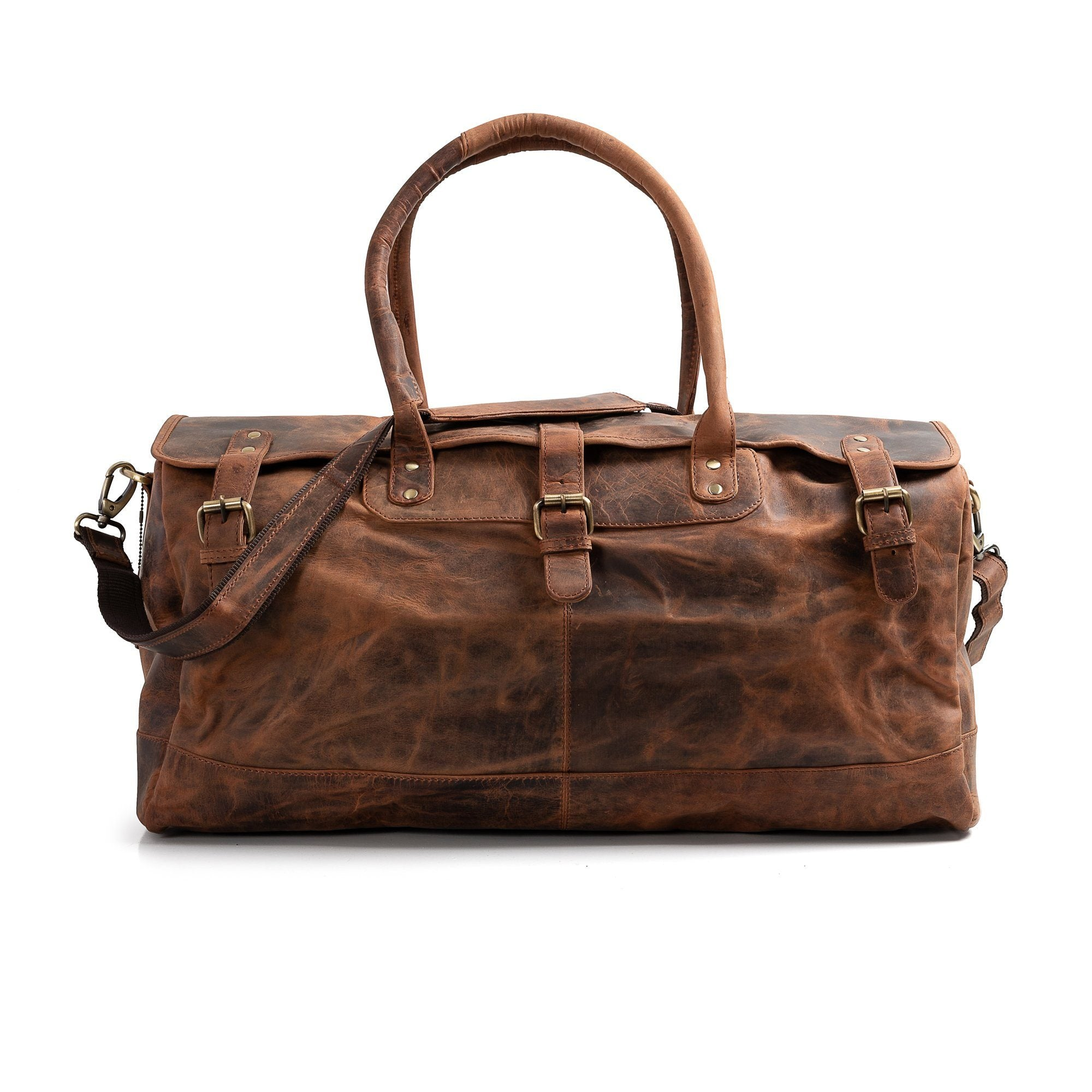 Vintage Leather Essex Duffle Bag