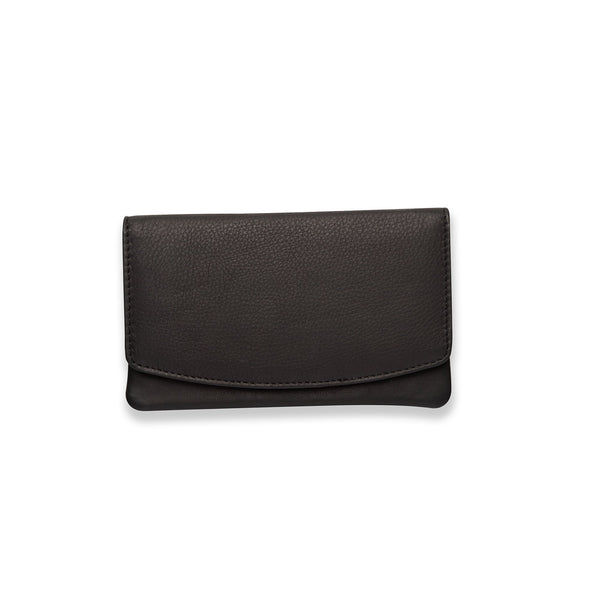 wallets for women black