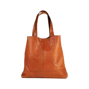 Leather Tote - Basil - Vintage Leather