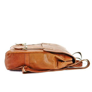 Leather Backpack -  Oliver - Vintage Leather