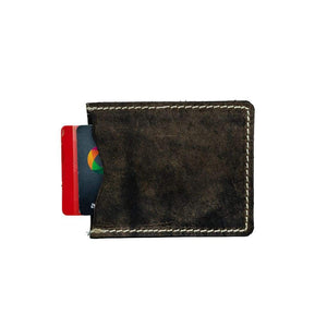 Leather Credit Card Wallet - Ian - Vintage Leather