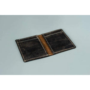 Leather Credit Card Wallet - Zabi - Vintage Leather