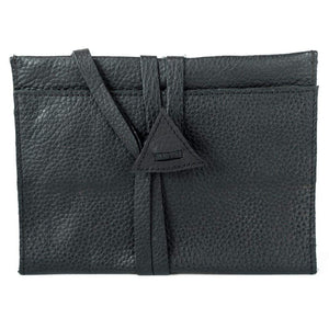 Leather Ladies Makeup Pouch - Tess - Vintage Leather