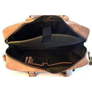 Leather Laptop Bag - Colombo - Vintage Leather