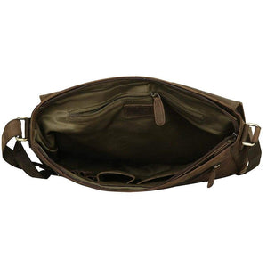 Leather Laptop Bag - Richmond - Vintage Leather