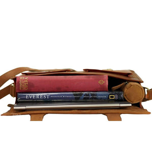 Leather Messenger Bag - Melbourne - Vintage Leather