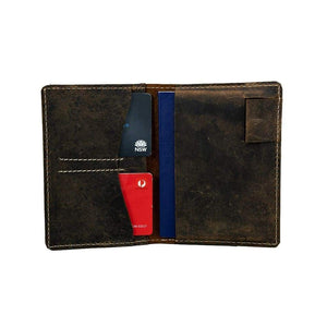 Passport wallet - Malta - Vintage Leather