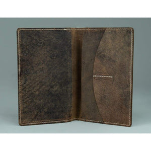 Leather Passport wallet - Melbourne - Vintage Leather