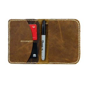 Passport wallet - Perth - Vintage Leather