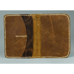 Leather Passport wallet - Perth - Vintage Leather
