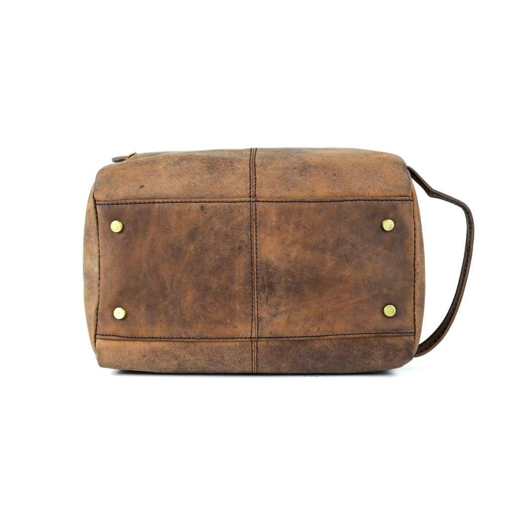 Toiletry Bag - Wilson - Vintage Leather