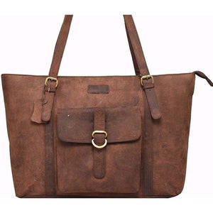 Leather Tote Bag - Rose Bay - Vintage Leather